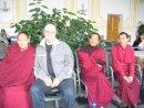 Встреча с монахами из Тибета.